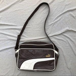 Retro Puma Messenger Shoulder Bag